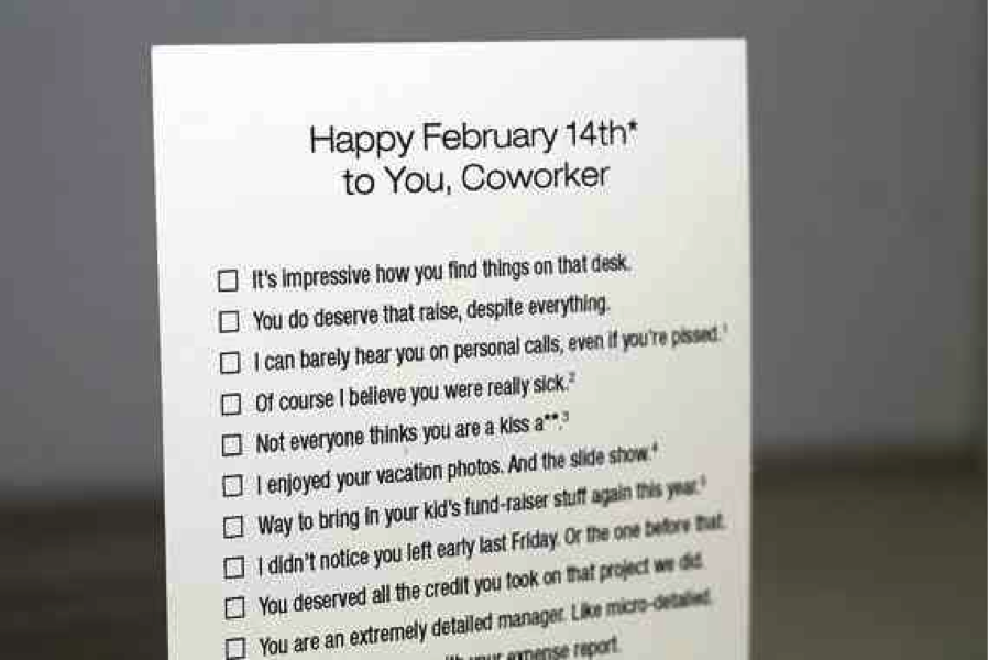 Valentine Quotes To Coworkers : Inappropriate Valentine S Day Cards Dot  Complicated