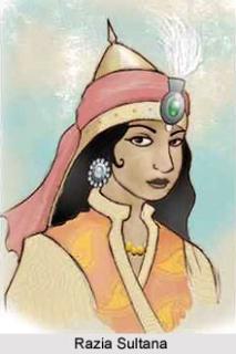 who was the father of razia sultan
