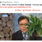 Bob Costas' Eye Ruled The Internet Last Night