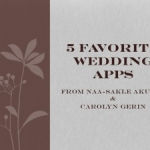 5 Favorite Wedding Apps