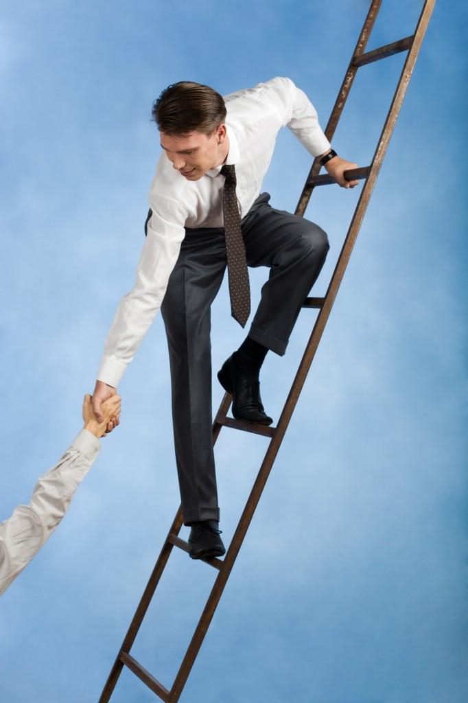 climbing-the-ladder