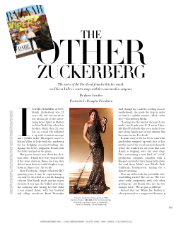 Randi in Harpers Bazaar