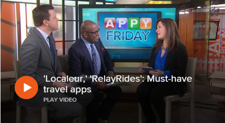 Localeur, RelayRides : Must-have travel apps