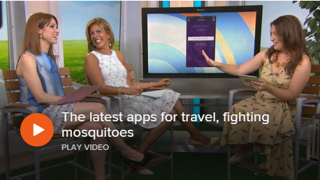 The latest apps for travel, fighting mosquitoes